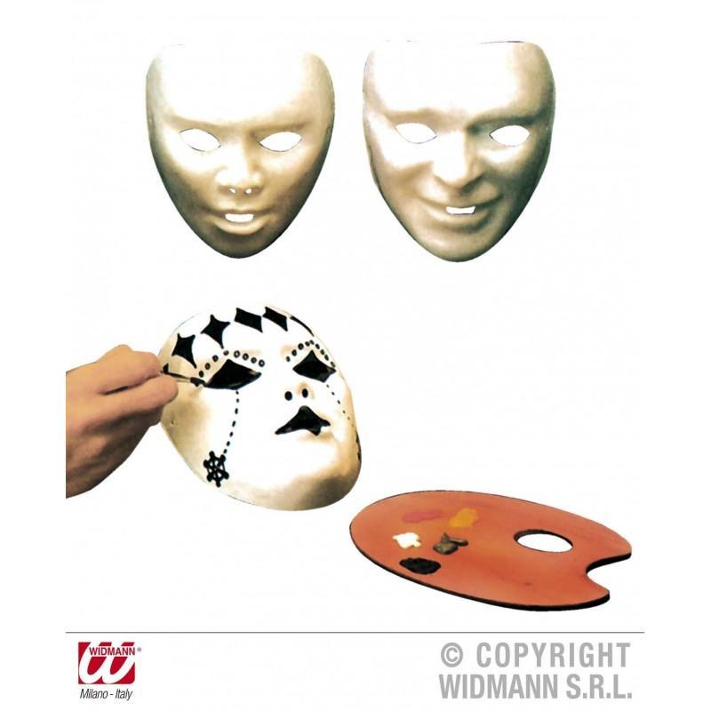 Máscara Blanca Decorable