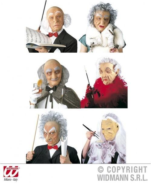 Máscara Personajes con Pelo