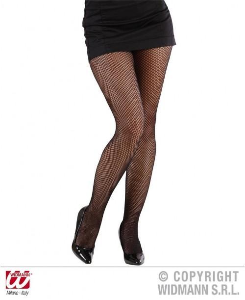 Panty Rejilla Negro