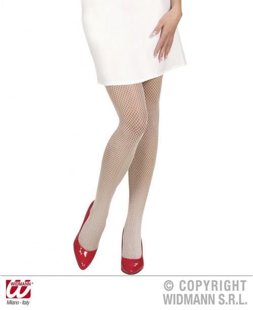 Panty Blanco Rejilla
