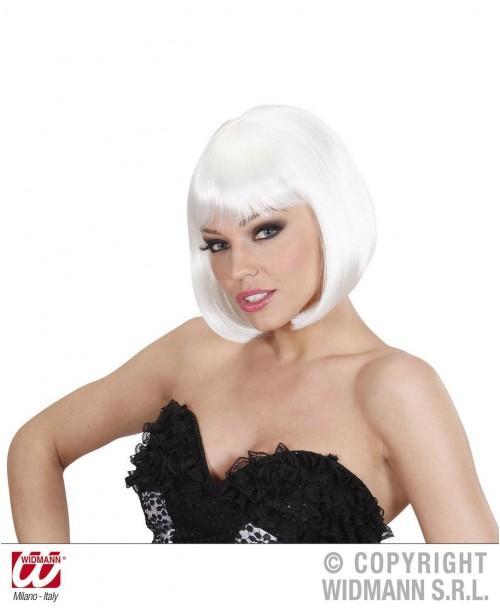 Peluca Lovely blanca