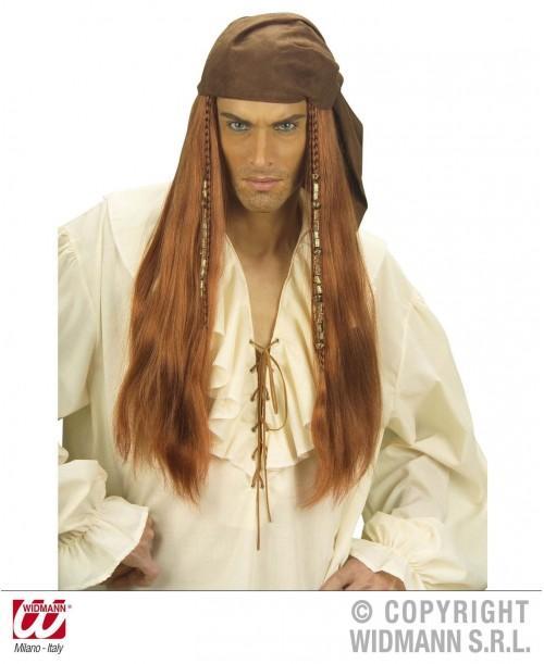 Peluca Pirata del Caribe