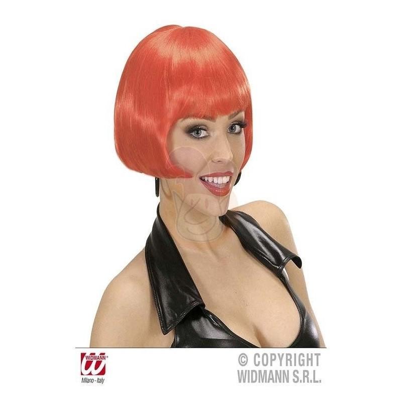 Peluca Valentina roja