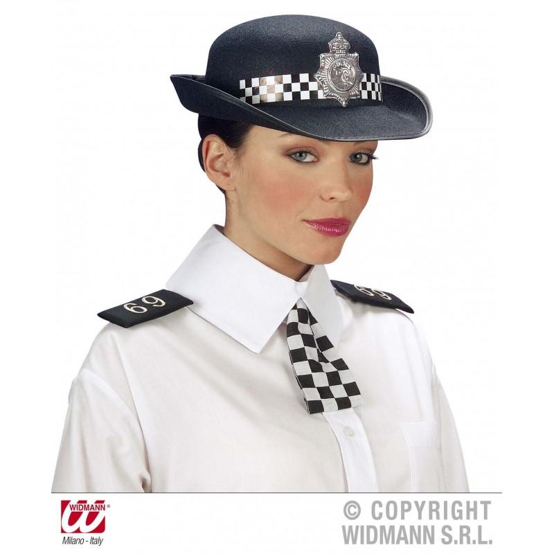 Gorro Mujer Policía