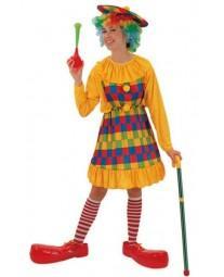 Disfraz de Clown Chica
