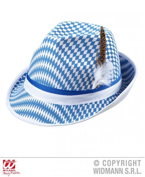 Sombrero Bandera Bávara con Pluma