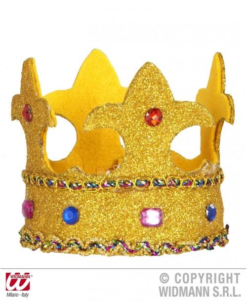 Mini Corona Glitter con Piedras