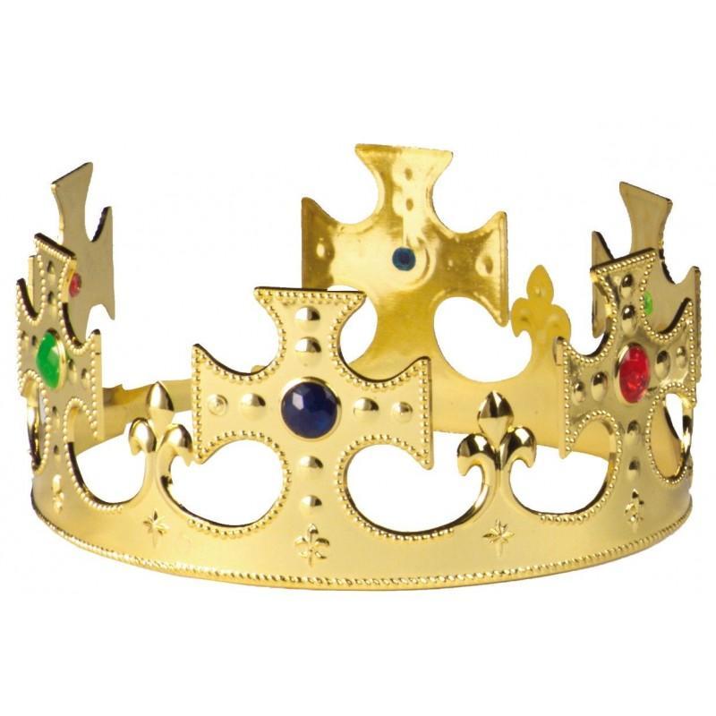 Corona Rey Cruzada Oro