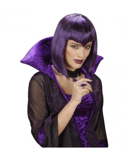 Peluca Vampiresa Gótica