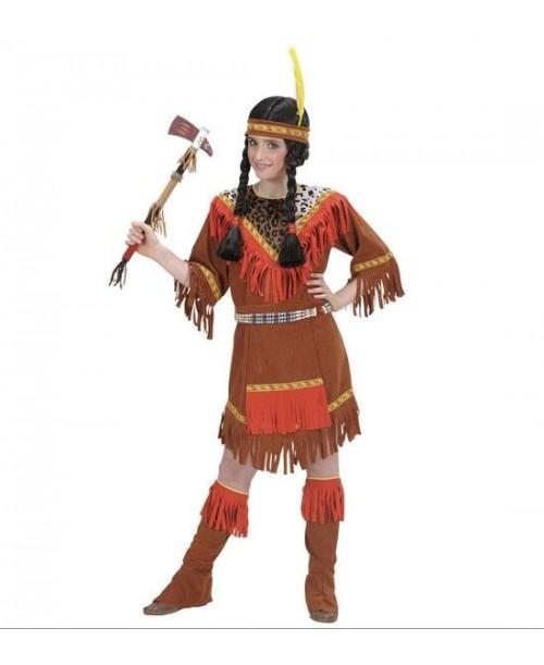 Disfraz de India para Niñas de 5 a 13 años