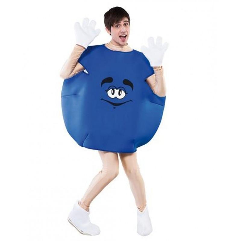Disfraz de Caramelo Azul Adulto