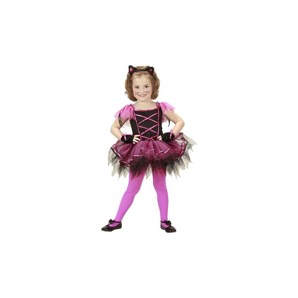 Disfraz de Gatita Bailarina para Niñas de 3 a 5 Años | Disfraces ...