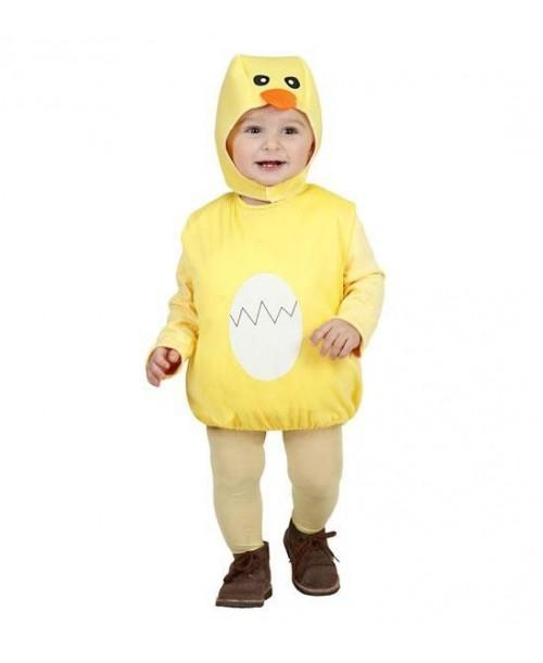 Disfraz de Pollito para Niños