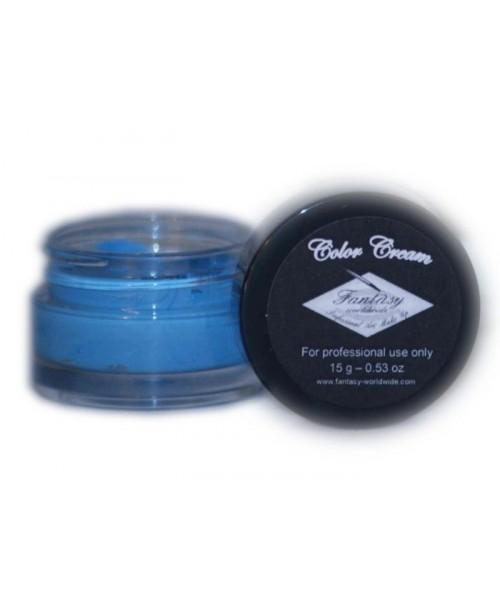 Maquillaje en Color Azul Claro
