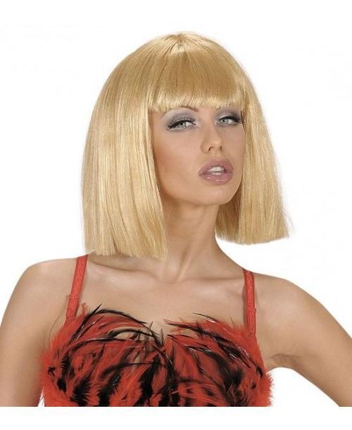 Peluca Rubia de Showgirl