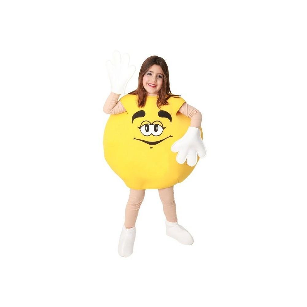 disfraz de caramelo amarillo para nios