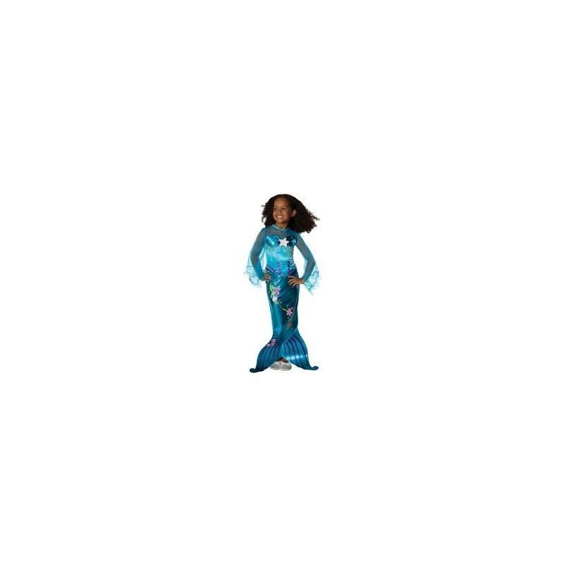 Disfraz Sirenita Azul Mágico