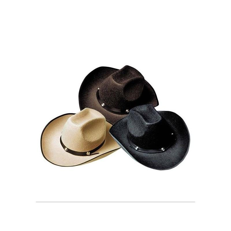 Sombrero vaquero con tuerca