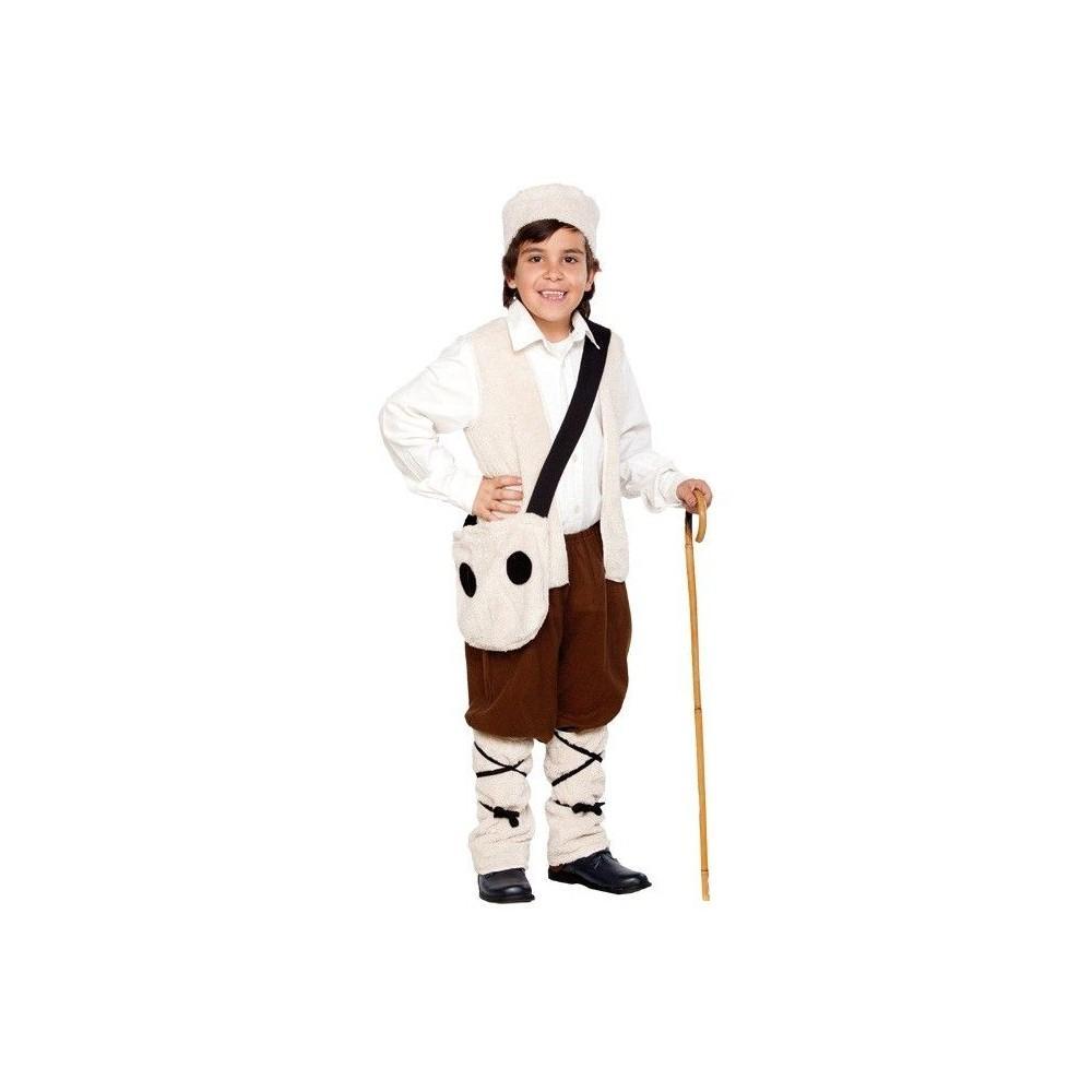 Disfraz de pastorcillo para ni os disfraces navidad - Disfraces de duendes navidenos para ninos ...