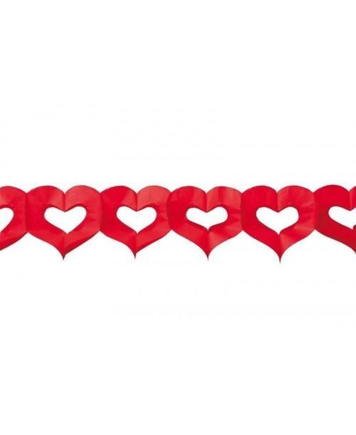 Guirnalda corazones