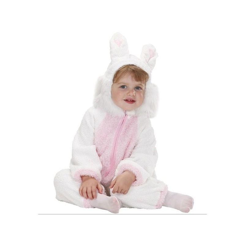 Disfraz de Conejito Fuzzy para Bebés