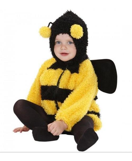 Disfraz  de Abeja Fuzzy para Bebés