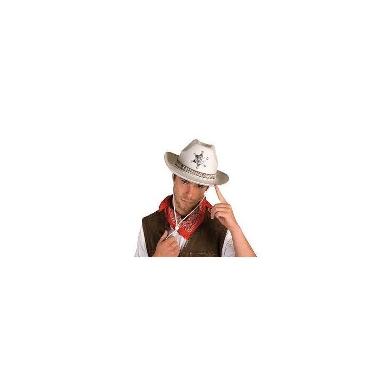 Sombrero Sherif Blanco
