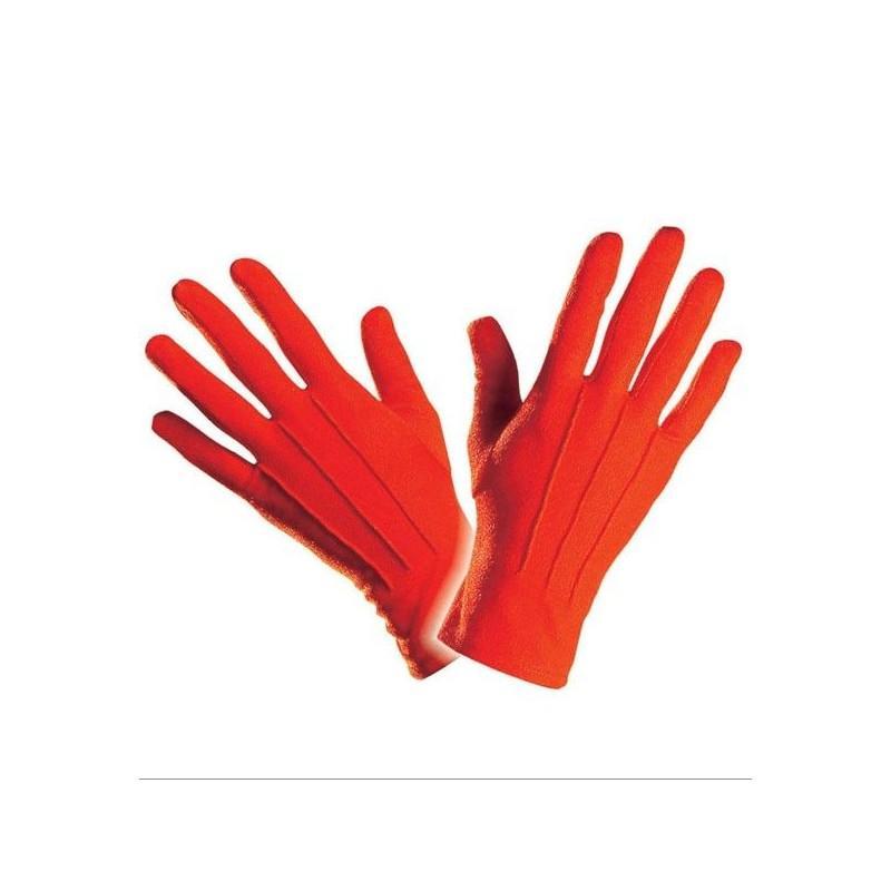 Guantes Rojos para Disfraz