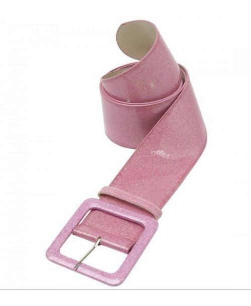 Cinturón con purpurina