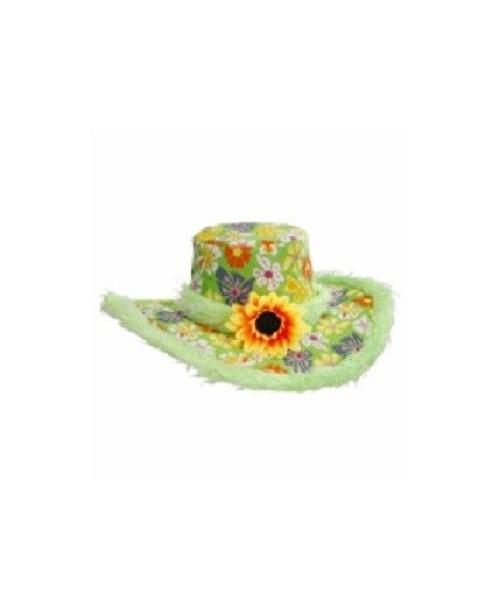 Sombrero Ibiza Flores