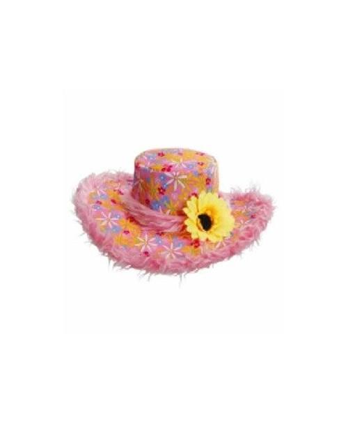Sombrero Ibiza Rosa