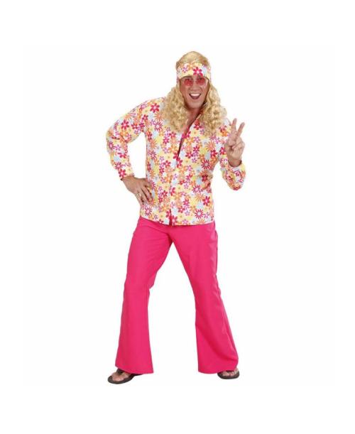 Camisa Flores Hippie
