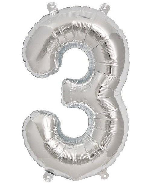 """Globo Foil 34"""" Nº 3"""