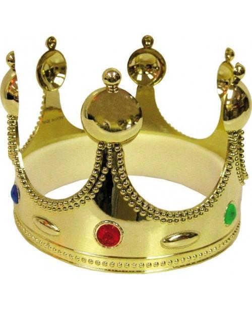 Corona PVC Rey Oro