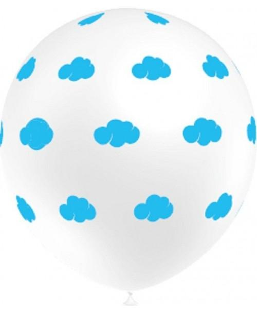 Globo Nubes (Pack  8 globos)