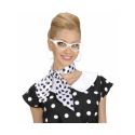 Gafas años 60 con strass