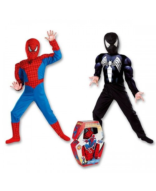Disfraz Spiderman Reversible Musculoso