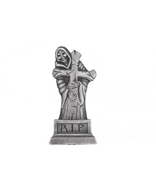 Lápida Cruz Rip Fantasma
