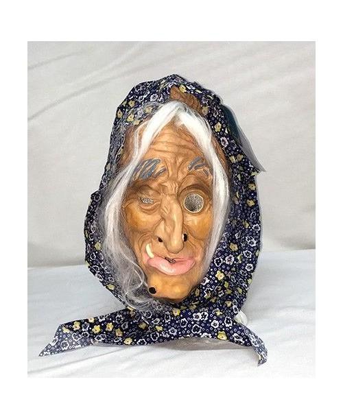 Máscara Cubierta de Abuela Terrorífica