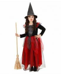 Disfraz de Bruja Malvada para Niñas