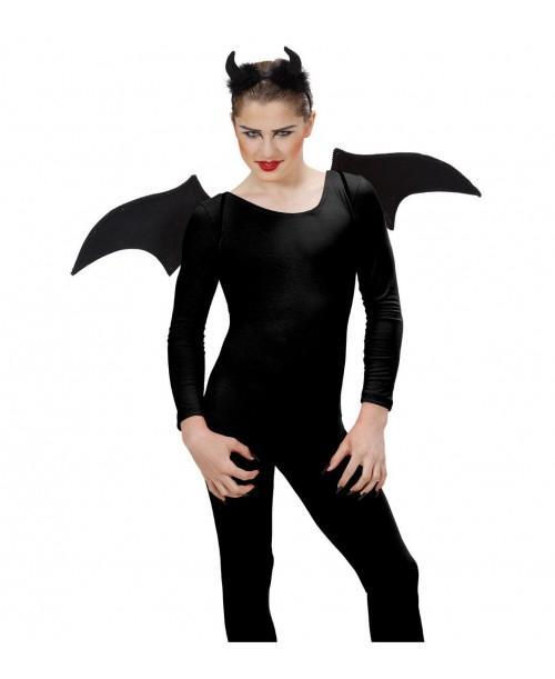 Set Disfraz Diablo Negro