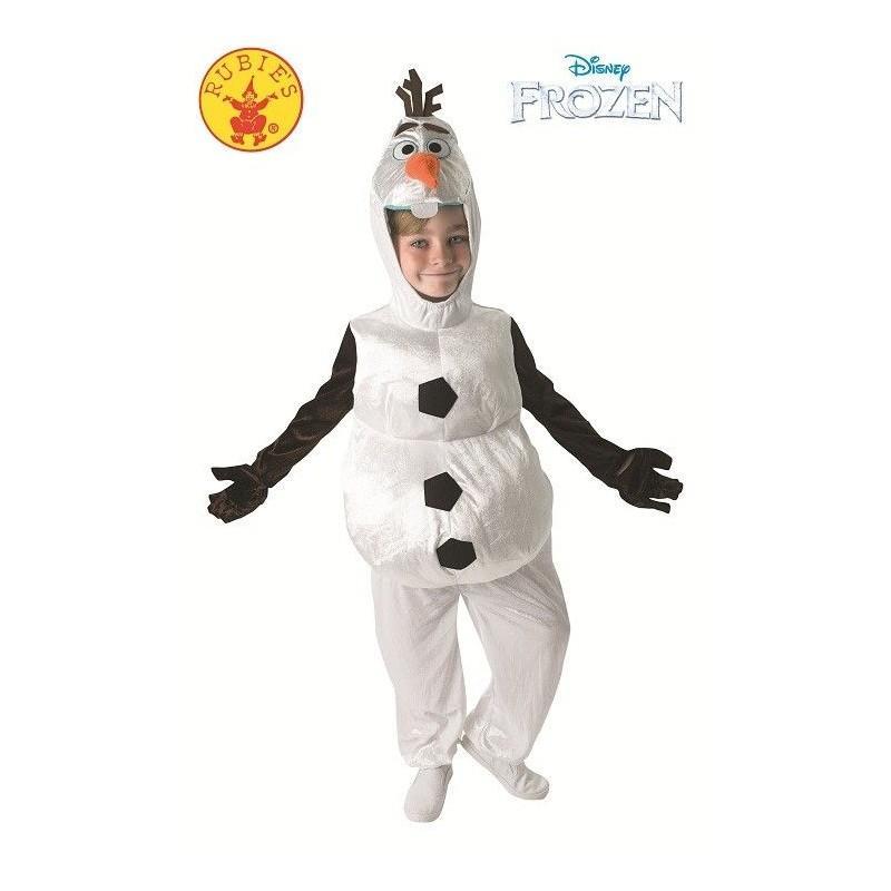 Disfraz Olaf Infantil muñeco de nieve