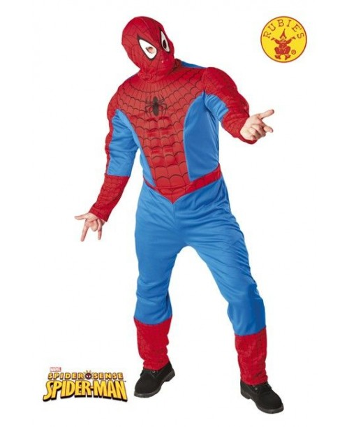 Disfraz Spiderman Musculoso Adulto