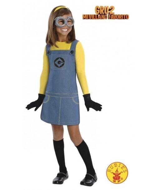 Disfraz Chica Minion Infantil