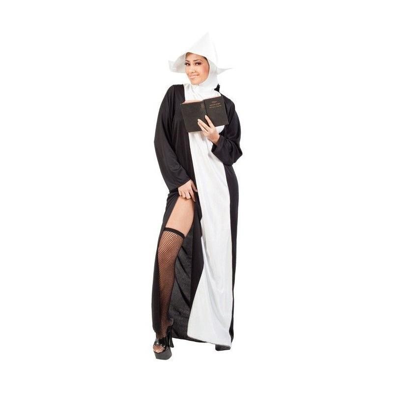 Disfraz de Monja Sexy para Adultos