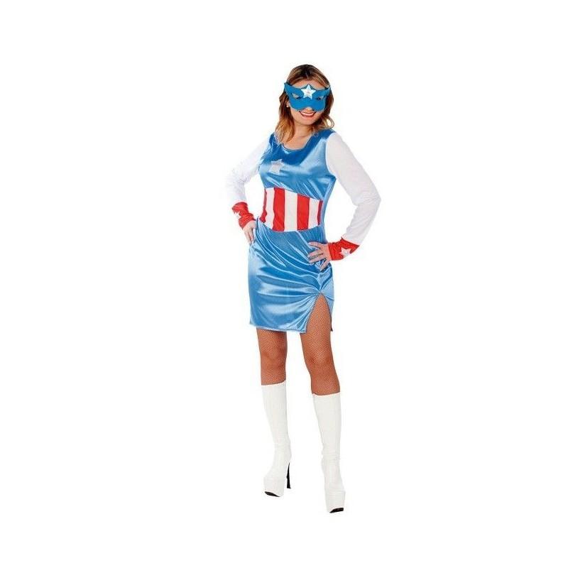 Disfraz de Capitana Azul