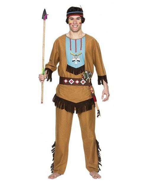 Disfraz de Indio para adultos