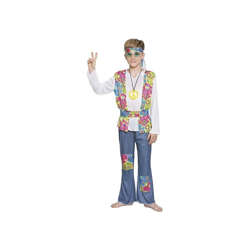 Disfraz hippie ni o casa del disfraz for Disfraz de hippie
