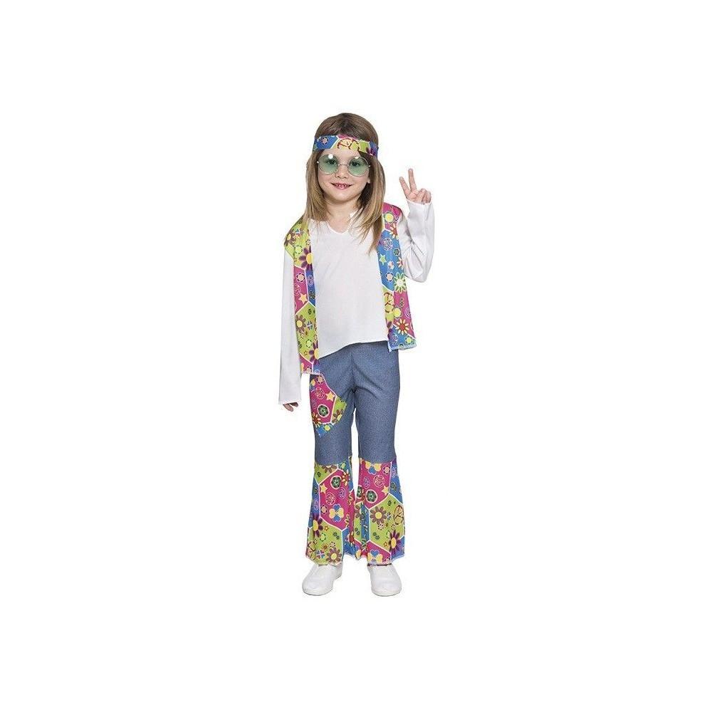Pin disfraces disfraz ni a monster high draculaura on for Disfraz de hippie