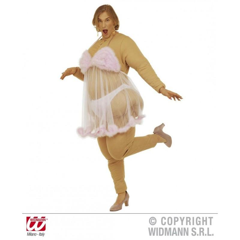Disfraz de Bailarina Striper Gorda